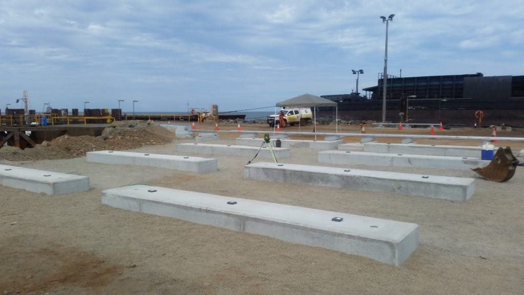 Precast ready for structure