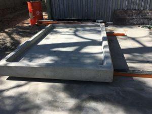 Concrete Diesel Bund